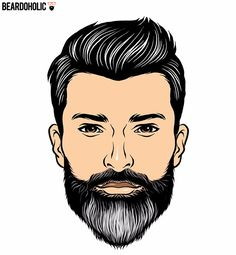The Dual Tone - Full and Long Beard Styles Polished Beard