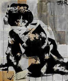 "Saatchi Art Artist Loui Jover; Drawing, ""ceremony"" #art"