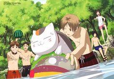 Tags: Anime, Scan, Natsume Yuujinchou, Nyanko-sensei, Natsume Takashi