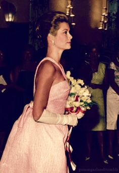 I tried to be like Grace Kelly, but all her looks were too sad...