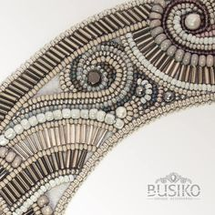 Art deco collar necklace Stylish gray detachable beaded collar Classic elegant removable collar for women Vintage jewelry Great Gatsby style by BusikoUA on Etsy Embroidery On Clothes, Bead Embroidery Jewelry, Beaded Embroidery, Beaded Jewelry, Beaded Collar, Collar Necklace, Art Deco Jewelry, Vintage Jewelry, Lesage