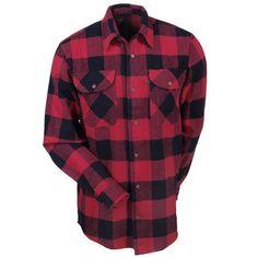 Berne Apparel Men's SH07 ARD Cotton Flannel Long Sleeve Work Shirt