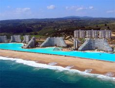 World's largest swimming pool - Nick wants to go here!