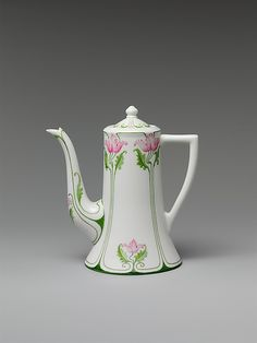 Coffeepot Manufactured by Lenox, Incorporated  ca. 1906