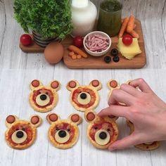 Cute Food, Good Food, Yummy Food, Food Crafts, Diy Food, Comida Diy, Food Art For Kids, Easy Food Art, Food Carving