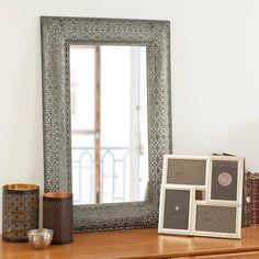 Miroir contemporain maison du monde for Miroir salle de bain maison du monde