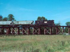 Danville, Ohio | 31XPP crosses a trestle near East Danville, Ohio.