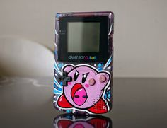 "Custom Art: Custom Game Boy Color ""KIRBY"""