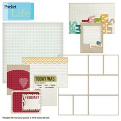 Adorable Pocket Life February Special that's FREE when you spend $15 in the Boutique this month. So versatile and cute, I can't wait to get my hands on it!