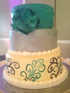Flower power Bridal Shower Cakes, Flower Power, Bakery, California, Desserts, Food, Tailgate Desserts, Deserts, Essen