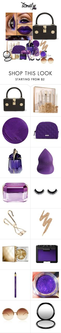 """""""Put it in the Bag!"""" by warleda ❤ liked on Polyvore featuring Dolce&Gabbana, Sephora Collection, Lipstick Queen, Vera Bradley, Thierry Mugler, Lord & Berry, Urban Decay, Burberry, NARS Cosmetics and L'Oréal Paris"""