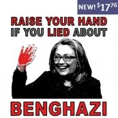Blood On Your Hands Lies About Benghazi Anti Hillary Clinton T-Shirt