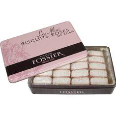 Fossier Roses de Reims Pink Champagne Mini Biscuits in Tin - 110 gr Fossier http://www.amazon.com/dp/B002TM8BG2/ref=cm_sw_r_pi_dp_3ocVub1DDQ24Z