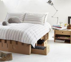 Karton cama