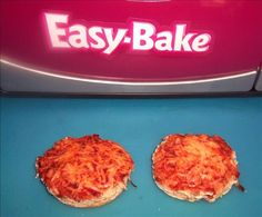 EASY BAKE OVEN...Food.com has TONS of DIY recipes vs. spending all that money buying the pre mixed stuff...and you are fairly limited on what you can get! LOVE LOVE LOVE this for my 2 little girls!
