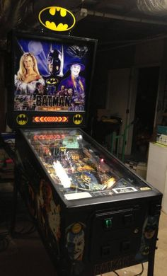 Batman Data East Vintage Pinball Machine!!!