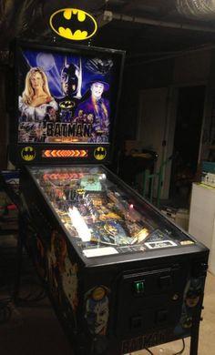 Batman Data East Vintage Pinball Machine!!!