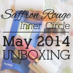 Saffron Rouge Inner Circle - May 2014 Unboxing | Ribbons Down My Back