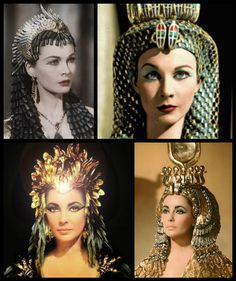 Cleopatra Theatrical Headdress Gold Lame with Pearls Egyptian Headpiece Crown Hair Accessory Egyptian Headpiece, Egyptian Goddess Costume, Egyptian Party, Headdress, Egyptian Hairstyles, Crown Hairstyles, Egyptian Fashion, Divas, Gold Lame