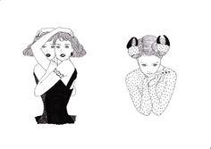 #girls #cute #illustration by maegamimami