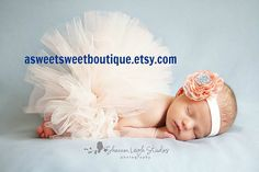 Newborn Tutu Baby Tutu Sweet Peaches And by ASweetSweetBoutique, $45.00