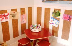 kids craft room