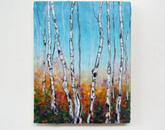 Large Encaustic Painting-Original Abstract Landscape by KLynnsArt
