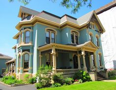 The Kalamazoo House by Brandon Bartoszek Via Flickr: This house was built circa 1878. It is used as a Bed & Breakfast today.
