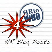 4 HR Blog Posts from HR to WHO