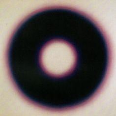 Ring Around The Moon, Sensory Art, Graphic Design Posters, Light Art, Op Art, Gradient Color, Art Inspo, Oil On Canvas, Contemporary Art
