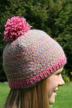 Love this linen stitch hat!