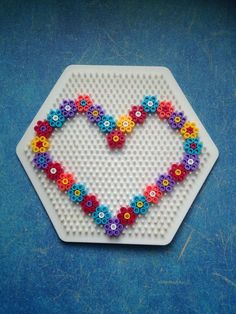 Handicraft ideas for Mother's Day Handicrafts with children, HAMA, ironing beads, Perler Beads, . Hamma Beads 3d, Hamma Beads Ideas, Fuse Beads, Pearler Beads, Perler Bead Templates, Diy Perler Beads, Perler Bead Art, Hama Bead Boards, Hama Beads Design