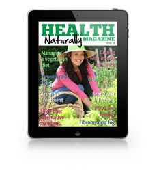 Our magazine is full of natural health remedies to many common ailments. Our latest issue has an article on natural arthritis treatment.