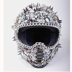 I will have a motorcycle and this will be my helmet.