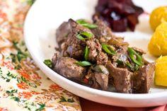 Приготовленные из печени блюда очень полезны, они, если их правильно приготовить, насытят организм ценнейшими витаминами. Блюдо будет наиболее вкусным, когда печень нарезается небольшими кусочками. На растительном масле обжаривать печень необязательно, но его в количестве одной столовой ложки добавляют на сковородку, где...http://vk.com/dinnerday; http://instagram.com/dinnerday #мясо #кулинария #печень #еда #рецепт #dinnerday #food #cook #recipe #meat #cookery #liver