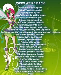 Photo of Winx Club - Winx! We're Back for fans of The Winx Club 31901737 Bloom Winx Club, Girls Are Awesome, Back Photos, Club Parties, Ready To Play, Kids Shows, Theme Song, Songs, Fairy Girls