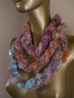 Dope Rope Eternity Scarf by designsbyamber on Etsy