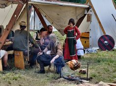 https://flic.kr/p/9SMPm8 | Svatobor 2011 | annual medieval festival about the living and fighting of Vikings, Varangians ans Slavics in early medieval age for a better sight…