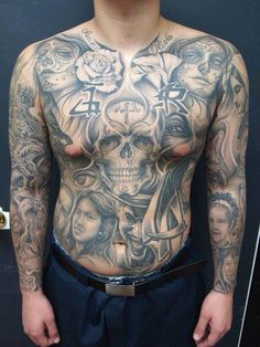 Chicano tattoo art