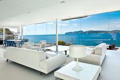 Modern White Interior Design In Outstanding Mallorcan Villa Dream Home Design, Home Interior Design, Interior And Exterior, House Design, Villa Design, Contemporary Architecture, Interior Architecture, Modern Contemporary, Design Salon