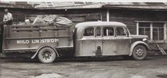 Apparently the 'bruck' (bus/truck combination for passengers and cargo) was a thing for a while in Europe, via www.jalopyjournal.com