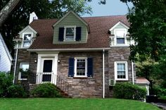 After a fresh coating of Permanent Paint by Rutgers Permanent Painting. Changing the color from yellow to green brought new life to the exterior of the home and it's protected from peeling and chipping for years to come..