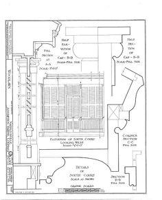 HABS (sheet 19 of - Woodlawn Plantation, State Highway Napoleonville, Assumption Parish, LA Plantation Homes, Historical Architecture, Architecture Details, Southern Mansions, Assumption Parish, Clever Design, House Plans, How To Plan