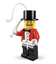 """Ringmaster -- """"Ladies, gentlemen and children of all ages, you will not believe your eyes!"""" 