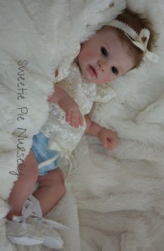Indra Awake - Full body doll kit by Reva Schick - LDC Soft Vinyl - Online Store - City of Reborn Angels Supplier of Reborn Doll Kits and Supplies