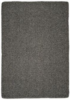 #HookandLoom Natural Wool Loom Hooked Rug- Solid Charcoal Outdoor Carpet, Rug Hooking, Earth Tones, Wool Rug, Loom, Hand Weaving, Charcoal, Rugs, Natural
