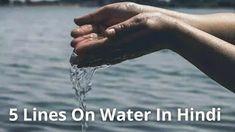 5-lines-on-water-in-hindi Singer, Actors, Water, Gripe Water, Singers, Actor