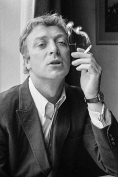 David Hurn - G.B. ENGLAND. London. Actor Michael CAINE - at the time of the making of the cult film 'Alfie'.