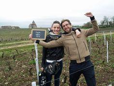Visite aux pieds de vigne adoptés - Journée Vinification Domaien Brocard #GourmetOdyssey