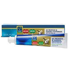 Propolis & Manuka Honey Toothpaste with Tea Tree Oil